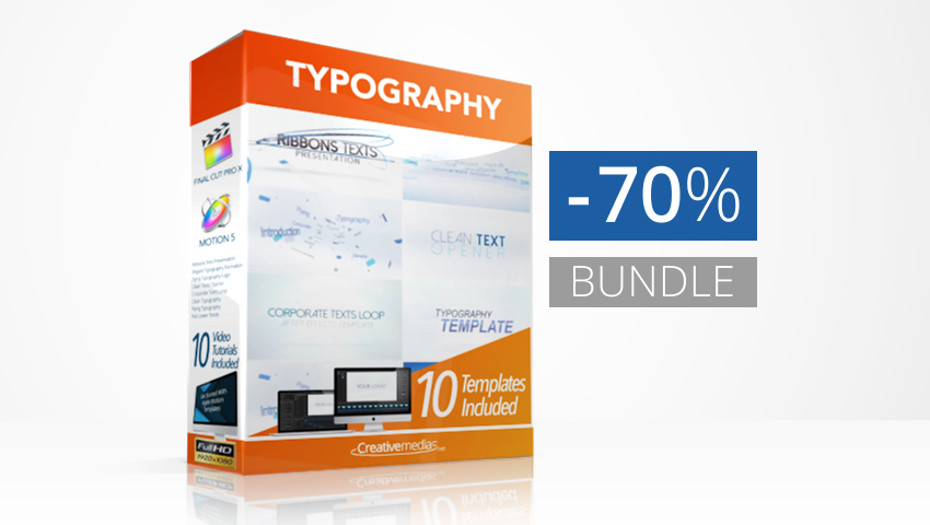 Typography Templates Bundle