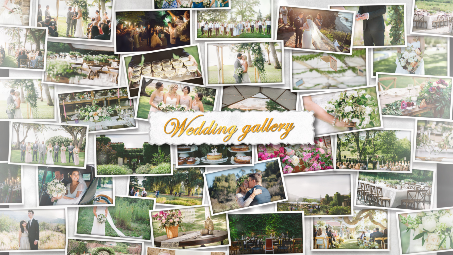 final cut pro wedding templates - wedding wall gallery final cut pro x template