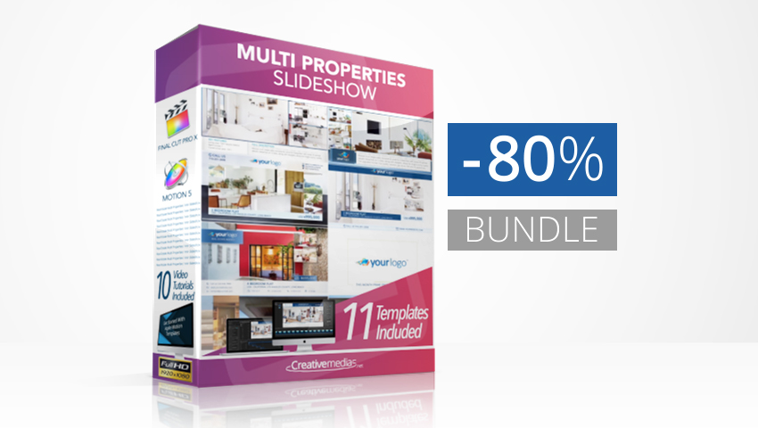 Real Estate Multi Properties Bundle
