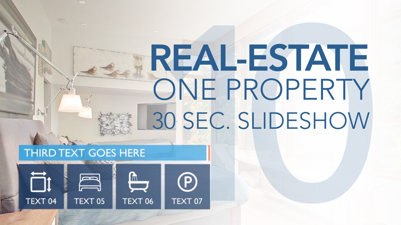 Real Estate One Property 30s Slideshow 10 Final Cut Pro